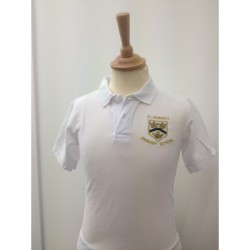 St Edmund's White Polo Shirt
