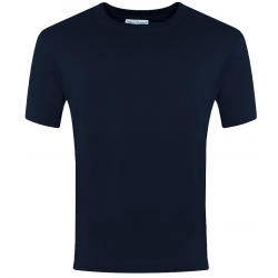 Plain Navy Crew Neck PE...