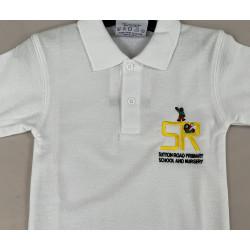 Sutton Road White Polo Shirt
